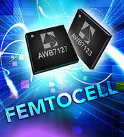 Power Amplifiers target femtocell markets.
