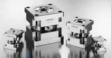 Tension/Compression Sensors have ±8 kN measuring range.
