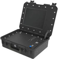 Portable Wireless Network Kit allows set up of temporary security cameras.