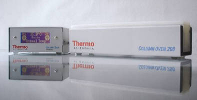 LC Column Ovens provide temperature control to ±0.1°C.