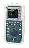 Hand-Held DSO/DMM includes built-in USB port and data logger.