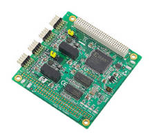CAN-Bus PCI-104 Module features 2,500 Vdc isolation protection.