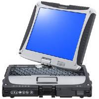Rugged Convertible Notebook utilizes Intel® Core i5® processor.