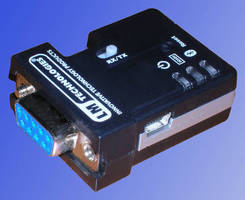 Wireless Serial Printer Adapter uses Bluetooth(TM) technology.
