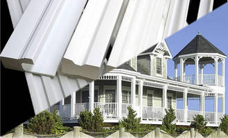 Styrene Exterior Mouldings are made from recycled materials.
