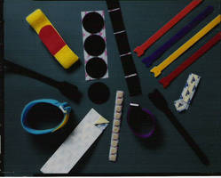 Nylon Hook and Loop Fasteners range in width from 1/4 to 4 in.