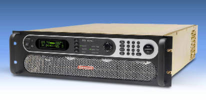 Sorensen SG Series Now Expanded to Include 800VDC Model