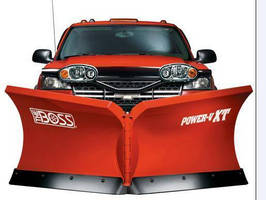 Multiposition Snowplow with Wide-Beam Lights handles tough jobs.