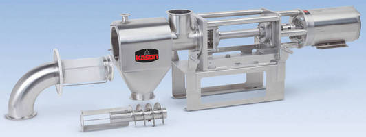 Small-Batch, Centrifugal Sifter can be autoclaved.