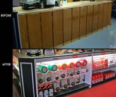 Counter Facades enhance environmental aesthetics.
