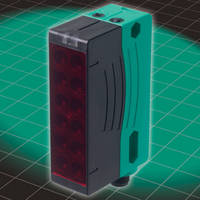 Retro-Reflective Area Sensors feature 6 beam array.
