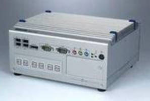 Fanless Box Industrial PC leverages Intel Core i7 CPU.