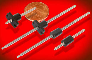 Micro-Sized Lead Screws reduce weight, not performance.