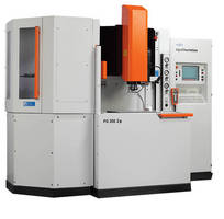 Automated Diesinking EDM offers compact, high-speed design.