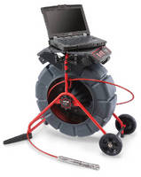 Pipe Inspection Camera Laptop Interface simplifies in field recrding.