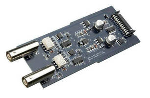 Pulse Generator Output Module provides up to 45 V.