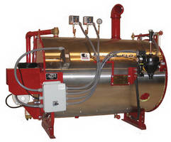 Steam Generator can burn waste-oil for fuel.