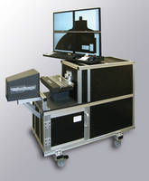 Digital Optical Comparators compare parts to CAD data.