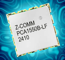 Phase-Locked Loop VCO features ultra low phase noise.