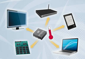 Digital Temperature Sensor IC thermally manages portable products.