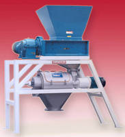 Packaged Product Separator segregates containers and contents.