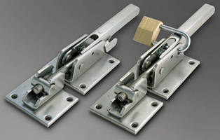 High-Strength Latches offer re-sealable fastening reliability.