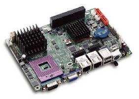 Rugged EPIC SBC includes SUMIT(TM) expansion connector.