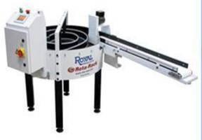 Parts Accumulator enables unattended CNC lathe runs.