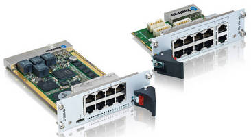 Layer 2/3 GbE Switch offers IPv4 and optional IPv6 routing.