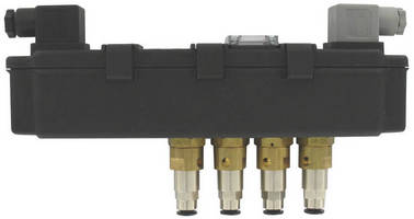 Solenoid Valve is supplied in enclosure with timer.