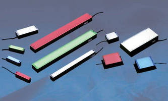 LED Bar Lights target machine vision applications.