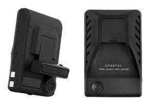 Dual Video Drive Recorder with GPS monitors driver activity.