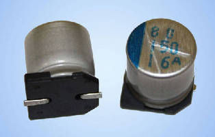 Aluminum Electrolytic Capacitors are offered in ranges from 1.7-1,000 µF.