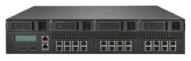 Dual CPU Appliance suits network security and acceleration appliance market.