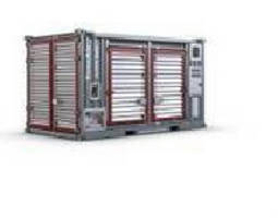 Containerized Portable Compressor targets oil and gas industry.