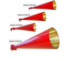 Conical Horn Antennas feature frequency range of 4-26.5 GHz.