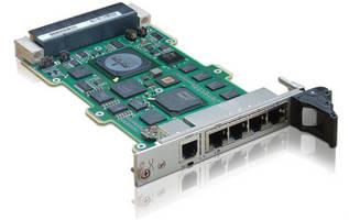 IPv4/6 Gigabit Ethernet Switch suits 3U VPX, OpenVPX(TM) platforms.