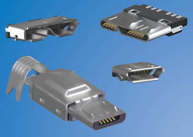 Micro-USB Interconnects save space, accelerate data transfer.