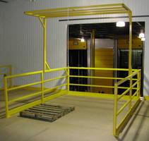 Industrial Safety Gate promotes safe pallet loading/unloading.