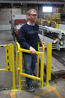 Safety Swing Gates meet OSHA 1910.23 safety requirements.