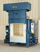 Gas-Heated Furnace provides temperatures to 2,000°F.