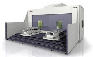 Tilt-Spindle Machining Center has heavy-duty, modular design.