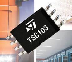 Current-Sense Amplifier delivers wide-input common-mode voltage.