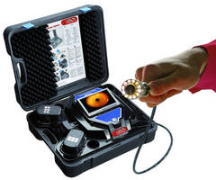Portable, Cordless Videoscope allows inspection up to 98 ft.