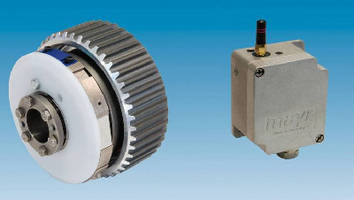 Safety Clutch features integrated signal transmitter.