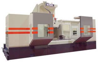 Vertical Column 5-Axis Profiler machines hard metals.