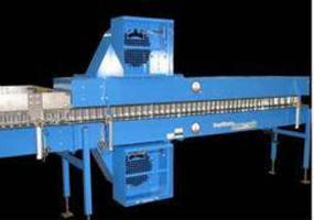 High-Speed Necker Infeed combines single filer and conveyor.