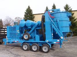 Trailer Mounted Vacuum System provides 28 in. Hg vacuum power.