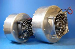 Magnetic Particle Brakes offer optional mounted fan.