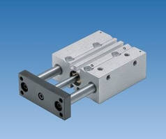 Double Acting Air Cylinders feature twin guide design.